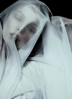 "Tanya Dziahileva in ""Ave Maria"", photographed by Danil Golovkin for Harper's Bazaar Russia July 2010"