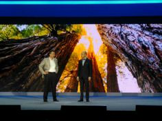 Umberto Milletti on stage with Fred Studer from MSFT at Convergence 14.  #IVCONV14 #CONV14