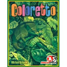 Coloretto $10 International Gamers Awards Best Strategy Game Nominee 2003 Spiel Des Jahres Nominee 2003 Like a Chameleon, a player may change his color many times during the game. However, players who change colors too often will not do well and may even earn minus points for doing so. This means that a player must wait for the proper time and place to make the change, but do it before his opponents do. Strategy Games, Game Night, Color Change, Card Games, Cards, Chameleons, Times, Colors, School