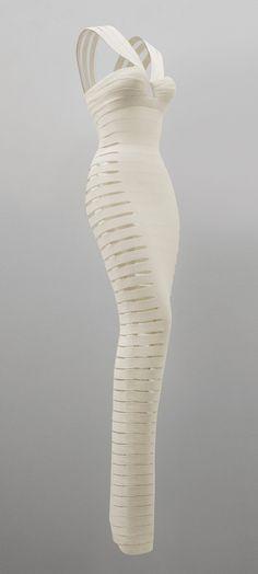 Alaïa Dress - 1990 - by Azzedine Alaïa - Jersey rayon and lycra - Private Collection - @~ Mlle .