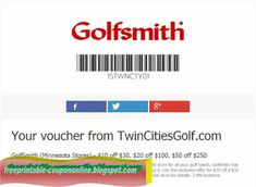Golfsmith Coupons Ends of Coupon Promo Codes MAY 2020 ! Golfsmith does not offer all kinds of high quality golf equipment from clubs . Kfc Coupons, Best Buy Coupons, Pizza Coupons, Joe's Pizza, Big Pizza, Free Printable Coupons, Free Printables, Papa Johns Coupon Code, Kfc Offers