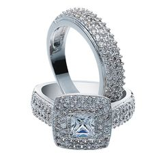 Austrian Crystal Ring Set