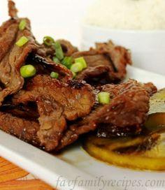 Hawaiian Beef Teriyaki Teriyaki Beef, Homemade Teriyaki Sauce, Teriyaki Marinade, Teriyaki Noodles, Pork Recipes, Asian Recipes, Cooking Recipes, Healthy Recipes, Potato Recipes