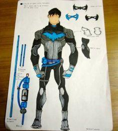 New 52 batman gauntlets build tutorial pinterest batman make a nightwing costume solutioingenieria Images