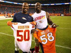 Different Sports, Sports Photos, Kansas City Chiefs, Broncos, Houston, Football, Sports Jerseys, Meet, Soccer