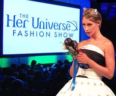 This summer, Her Universe put on its first fashion show at San Diego Comic-Con, an inspiring event that brought 36 designers together to create an eclectic collection of gorgeous geek couture. With pieces inspired by fandom favorites…