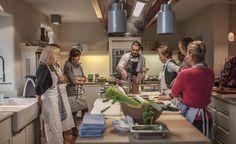 DE Hornbach Pfalz, Lösch für Freunden: Country design Hotel mit Gemeinschaftsküche und -Tisch