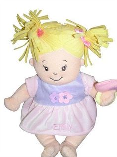 Personalised Baby Stella with Blonde Hair - PetitePeople