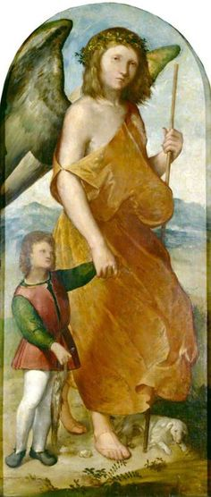 Tobias and the Angel Altobello Melone (c.1490–before 1543) The Ashmolean Museum of Art and Archaeology