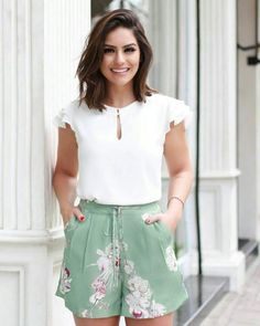 business casual outfits in Women's Dresses, Short Dresses, Fashion Dresses, Trajes Business Casual, Business Casual Outfits, Short Outfits, Spring Outfits, Cute Outfits, Short Elegantes