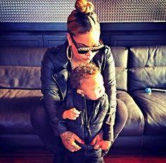 XOXO... Morgan Westbrooks and her nephew