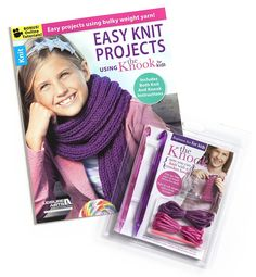 Kids Knook™ Value Pack - Get our best-selling Kids Knook™ instruction products for the low, low price of just $12.99! That's a 35% savings.You will receive these two products: Knook™ Beginner Set for Kids and Easy Knit Projects using the Knook™ for Kids.  This Bundle Includes the Following Products:            Knook™ Beginner Set for Kids   Now kids can join the fun of learning to knit with the Knook™, a specialized crochet hook from Leisure Arts that replaces traditional knitting...