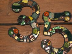 Custom Made Stained Glass Mosaic House by WiseCrackinMosaics, $24.00