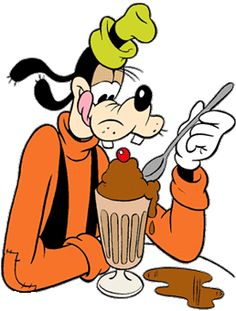 I ♥ Icecream Walt Disney, Goofy Disney, Disney Food, Disney Mickey Mouse, Disney Art, Disney Magic, Goofy Pictures, Disney Pictures, Pictures To Draw