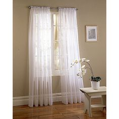 Curtains on pinterest white sheer curtains sheer curtains and white