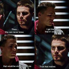 #Arrow #2x12 #Tremors