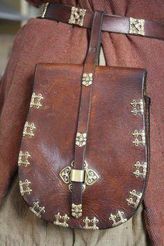 Birka style belt bag.