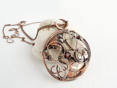 Spesial order for Ian Universe wire copper by UrsulaJewelry