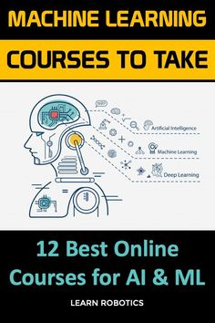 Break into the world of Artificial Intelligence with the 12 Best Online courses for Machine Learning. Whether you're looking to advance your career or start in the AI field, these courses can help you get up to speed with trends in ML. Machine Learning Course, Machine Learning Projects, Machine Learning Deep Learning, Learning Courses, Artificial Intelligence Algorithms, Machine Learning Artificial Intelligence, Basic Computer Programming, Gaming Computer, Computer Science
