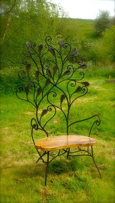 Wrought Iron Furniture Garden Seating Tables Lightiing Benches Beds – metal of life Iron Patio Furniture, Funky Furniture, Garden Furniture, Furniture Plans, Furniture Websites, Luxury Furniture, Garden Seating, Garden Chairs, Garden Sofa