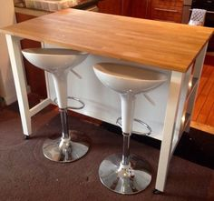 IKEA Stenstorp kitchen island on Gumtree. Slight wear and tear but no major marks or dents as it's always had a cover on the top. Used Stuff For Sale, Breakfast Bars, Kitchen Storage, Bar Stools, Ikea, Furniture Design, Layout, Tableware