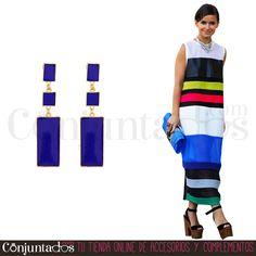 Los Marina son unos estilosos #pendientes color azul navy ideales para este #verano ★ 12,95 € en http://www.conjuntados.com/es/pendientes/pendientes-largos/pendientes-dorados-marina-lacados-en-azul.html ★ #novedades #earrings #conjuntados #conjuntada #joyitas #lowcost #jewelry #bisutería #bijoux #accesorios #complementos #moda #fashion #fashionadicct #picoftheday #outfit #estilo #style #GustosParaTodas #ParaTodosLosGustos