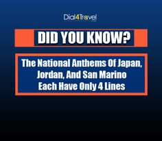 #DidYouKnow? Best Airlines, Cheap Airlines, National Anthem, Did You Know, Japan, National Anthem Song, Japanese