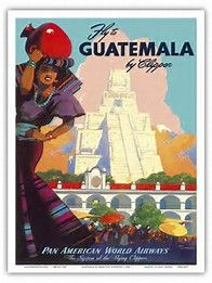 Image result for Pan Am Airlines travel posters