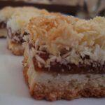 Receta de Tarta Sin Gluten de Coco y Dulce de Leche