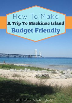 Ignace side trip-If you have plans to travel to Mackinaw City or Mackinaw Island, you can still do that on a budget! Check out my tips on Mackinac Island On A Budget Michigan Vacations, Michigan Travel, Dream Vacations, Family Vacations, Family Travel, Places To Travel, Places To Visit, Vacation Spots, Vacation Ideas