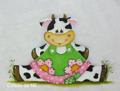 Ideas Patchwork Cozinha Vaquinha For 2019 Patchwork Tiles, Crazy Patchwork, Cute Cows, Cow Art, Country Paintings, Wood Patterns, Tole Painting, Applique Designs, Paper Piecing