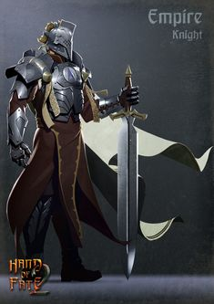 ArtStation - Empire Knight, Nick Smith
