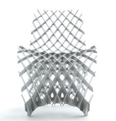 Joris Laarman Lab 3D printed aluminium chair