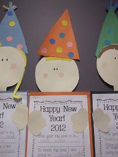 New Years printing practice