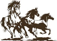 Horse Rodeo Western Horses Stallion Car Truck Window Laptop Vinyl Decal Sticker #Oracal