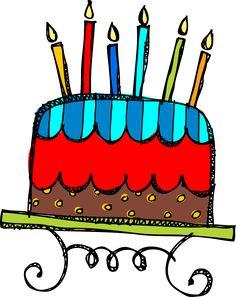 Free Birthday Clipart Cake