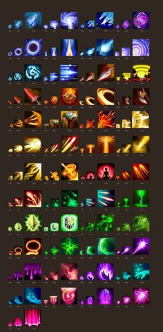 Game Gui, Game Icon, Game Ui Design, Icon Design, Elemental Magic, Pixel Art Games, I Love Games, Game Props, Mobile Art