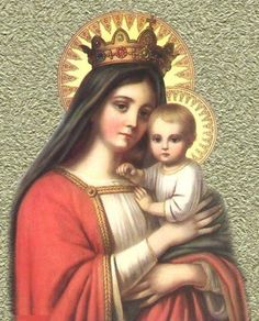 Blessed Mother & Baby Jesus