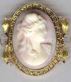 VICTORIAN CAMEO  Photo courtesy of Sunday and Sunday Fine Antique Jewelry