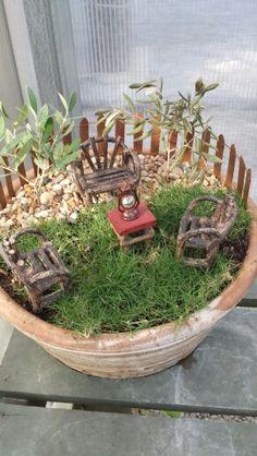 Little garden at Buchanan's