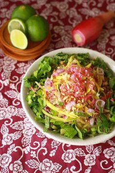 Mango Kerabu salad with Chili Lime dressing - Malaysian salad by guest ...