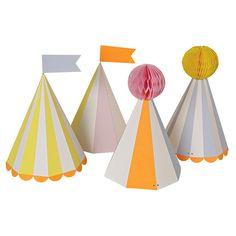 Meri Meri Silly Circus Party Hats | 8 ct