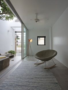 House block is a typical characteristic of urbanization at fast speed in developing countries in Asia, including Vietnam. QT House is one of such houses in Hanoi.Land dimension is 4,2mx10m, it is located in a very quiet and small alley. 3-metre wide...