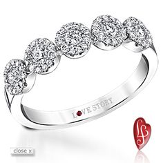 Love Story Engagement Rings, Wedding Rings, and Pendants