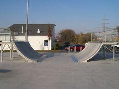 Skate Park, Outdoor Furniture, Outdoor Decor, Sun Lounger, Exterior, Mini, Building, Home Decor, Banisters