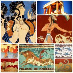 El palacio de Cnosos (Knossos) en Creta, Grecia, es el mejor ejemplo para comprender el apogeo de la primera civilización europea. La colina de Cnosos está situada a unos 5 km de la costa, sobre la vía natural hacia el interior de la parte central de Creta. Cnosos, con sus 17.000 m² construidos y unas 1.500 habitaciones, constituye el principal de los palacios cretenses y en el que se ha querido ver la sede del mítico rey Minos.