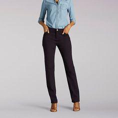 a1cc78029d3 Lee Women s Platinum Label Classic Fit Gwen Straight Leg Jeans (Size 8 x M)