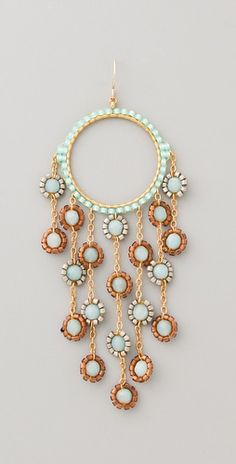 Brick stitch and chain earring inspiration from Miguel Ases