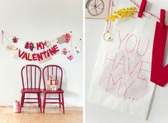 Valentines Day - garland
