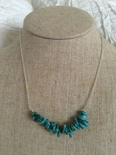 A personal favorite from my Etsy shop https://www.etsy.com/listing/461332806/turquoise-bead-bar